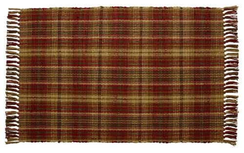 Cinnamon Rectangle Woven Rug
