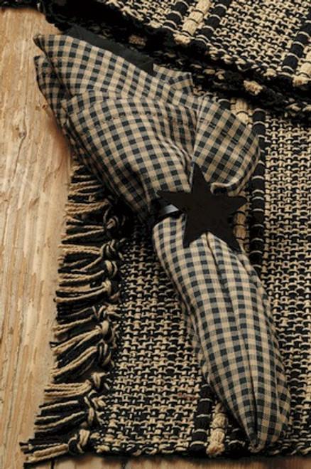 Black Terrace Napkin