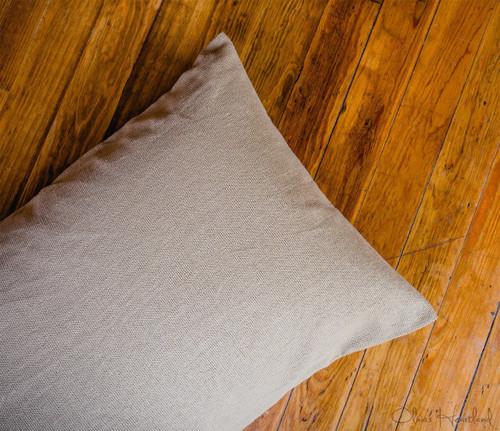 Deluxe Burlap Natural Pillow Case - Set of 2