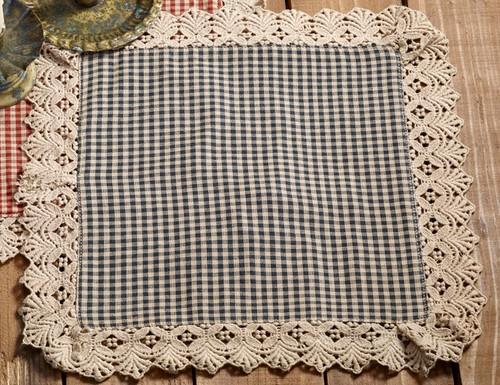 Ava Black Tablemat