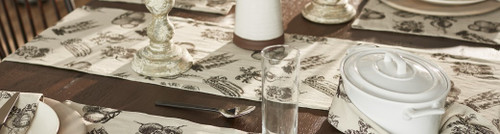 Fresh Produce Long Table Runner