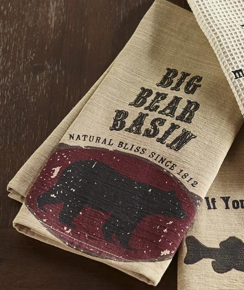 Big Bear Basin Dishtowel
