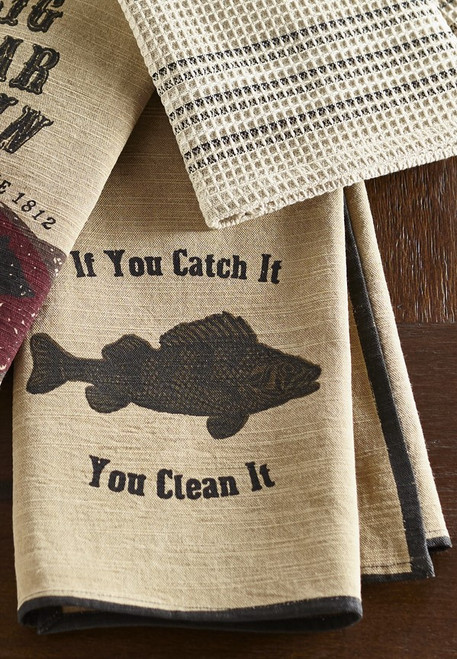 Bait N' Tackle Dishtowel
