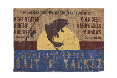 Bait N' Tackle Rectangle Rug