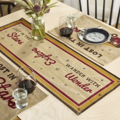Lost In The Stars Short Table Runner