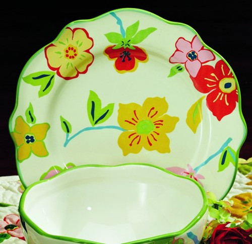 Fresca Ceramic Dinner Plate