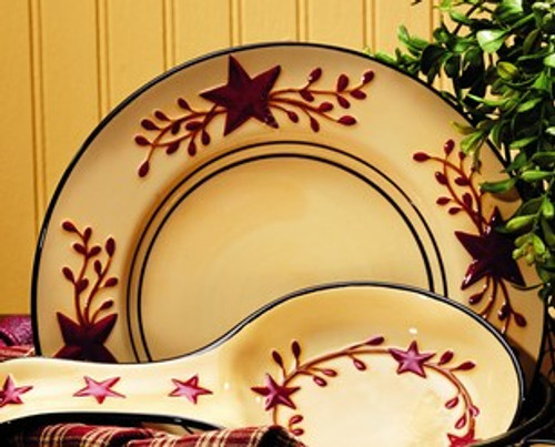 Berry Vine Ceramic Salad Plate