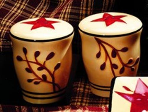 Berry Vine Salt & Pepper Shaker Set