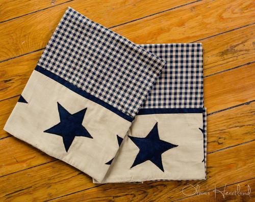 Jamestown Black Standard Pillowcase - Set of 2