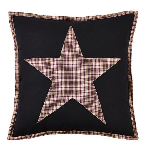 Plum Creek Fabric Star Pillow Cover