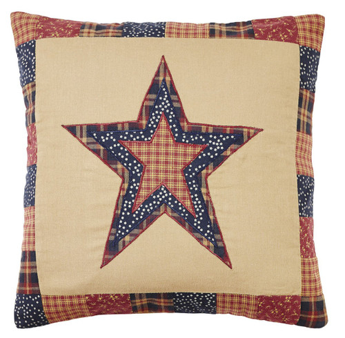 Old Glory Star Pillow Cover