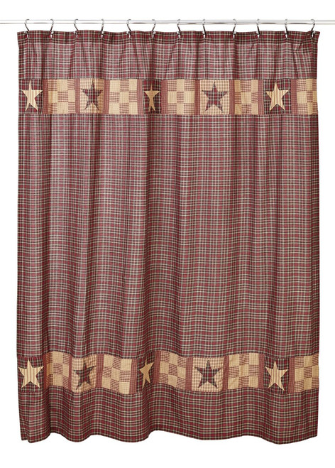 Bradford Star Shower Curtain