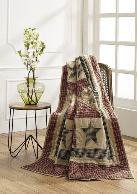 Plymouth Quilted Throw