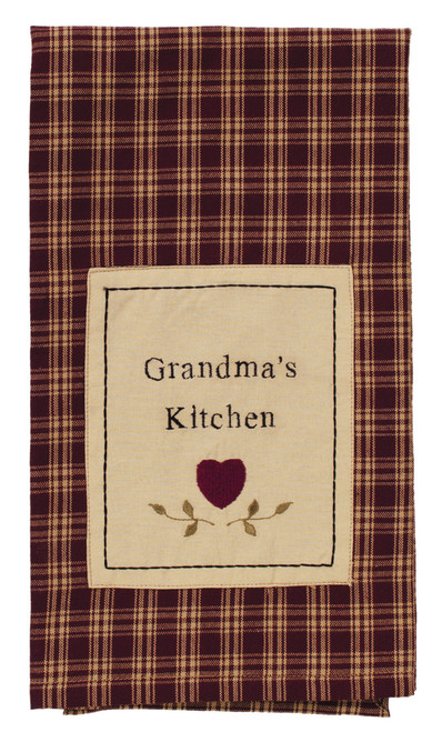 Cambridge Wine Grandma's Kitchen Dishtowel