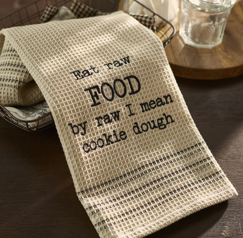 Raw Cookie Dough Dishtowel
