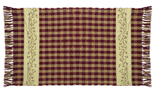 Checkerberry Rectangle Rug