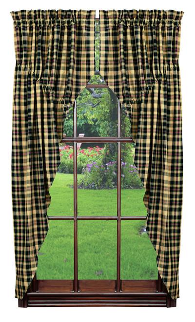 Tartan Prairie Curtain Set