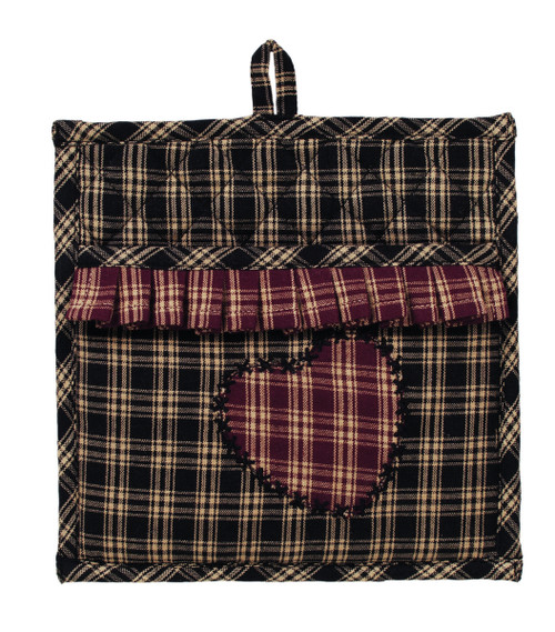 Cambridge Black Potholder