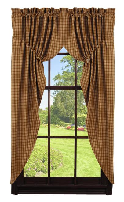 Cambridge Mustard Prairie Curtain Set