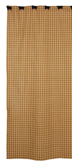 Cambridge Mustard Shower Curtain