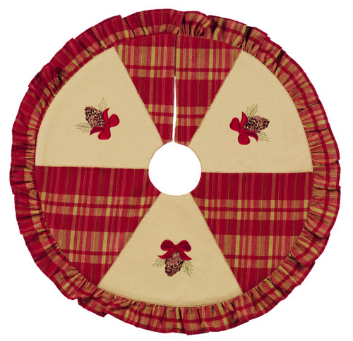 Holiday Pine Tree Skirt