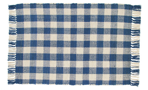 Picnic Blue Rectangle Rug