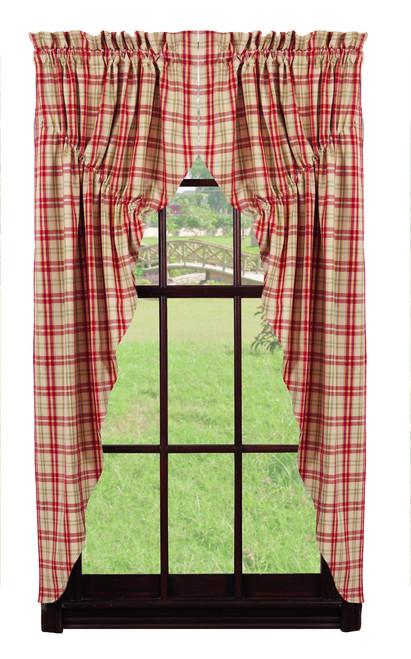 Sangria Prairie Curtain Set