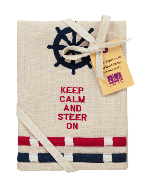 Wheel Dishtowel Gift Set - Set of 3