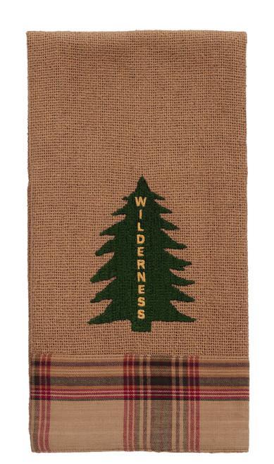 "Pinecone ""Wilderness"" Tree Dishtowel"