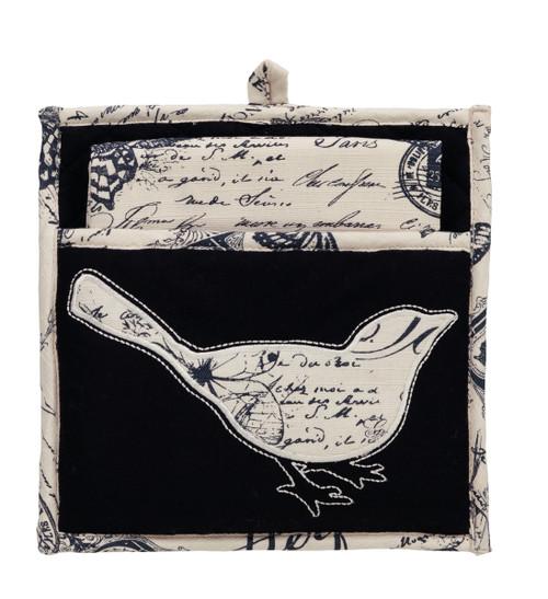 French Postcard Potholder Gift Set -2 Peice set