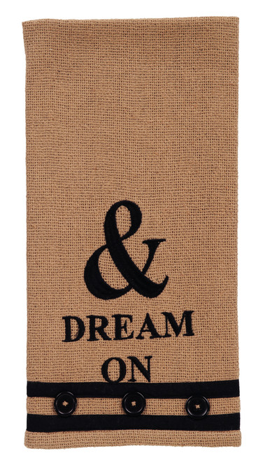 "Au Natural ""Dream On"" Dishtowel"