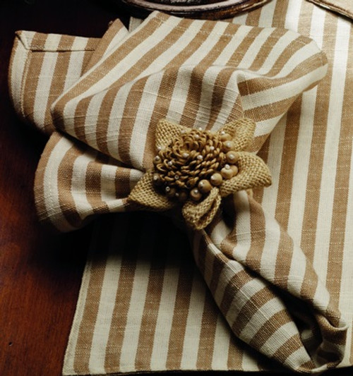 Au Natural Stripe Napkin