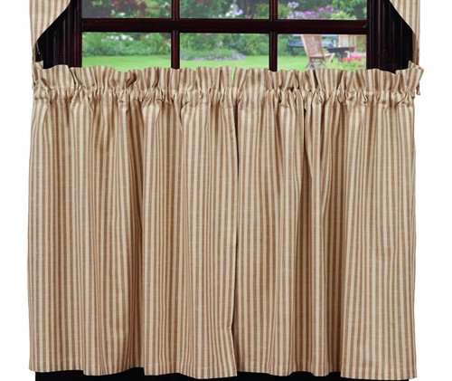 Au Natural Stripe Long Tier Pair