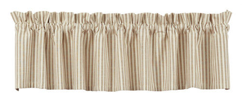 Au Natural Stripe Valance