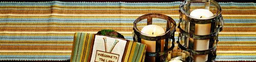 Cordwood Long Table Runner