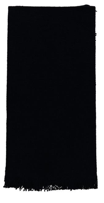 Burlap Black Dishtowel