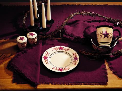 Burlap Wine Long Table Runner