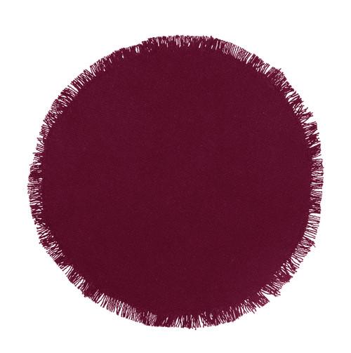 Burlap Wine Tablemat