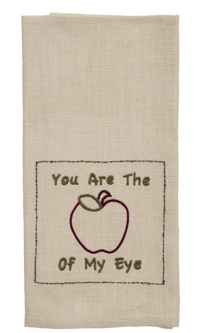 "Apple Valley ""Apple Of My Eye"" Dishtowel"