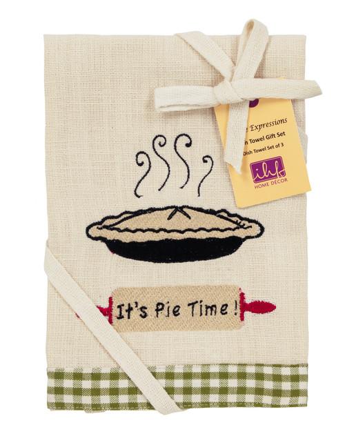 Apple Valley Dishtowel Gift Set - Set of 3