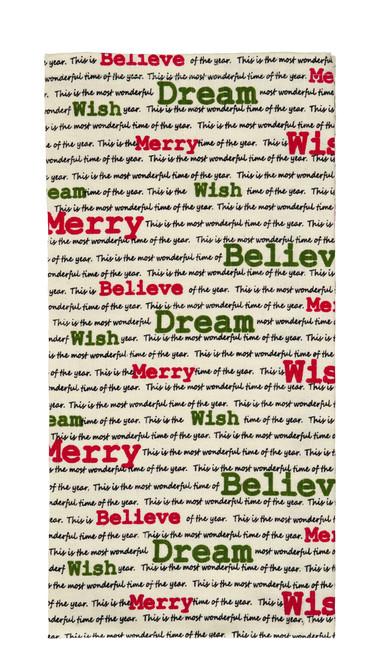 Christmas Wishes Dishtowel