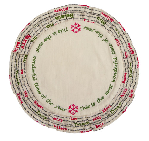 Christmas Wishes Tablemat