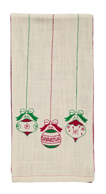 Emerson Ornament Dishtowel