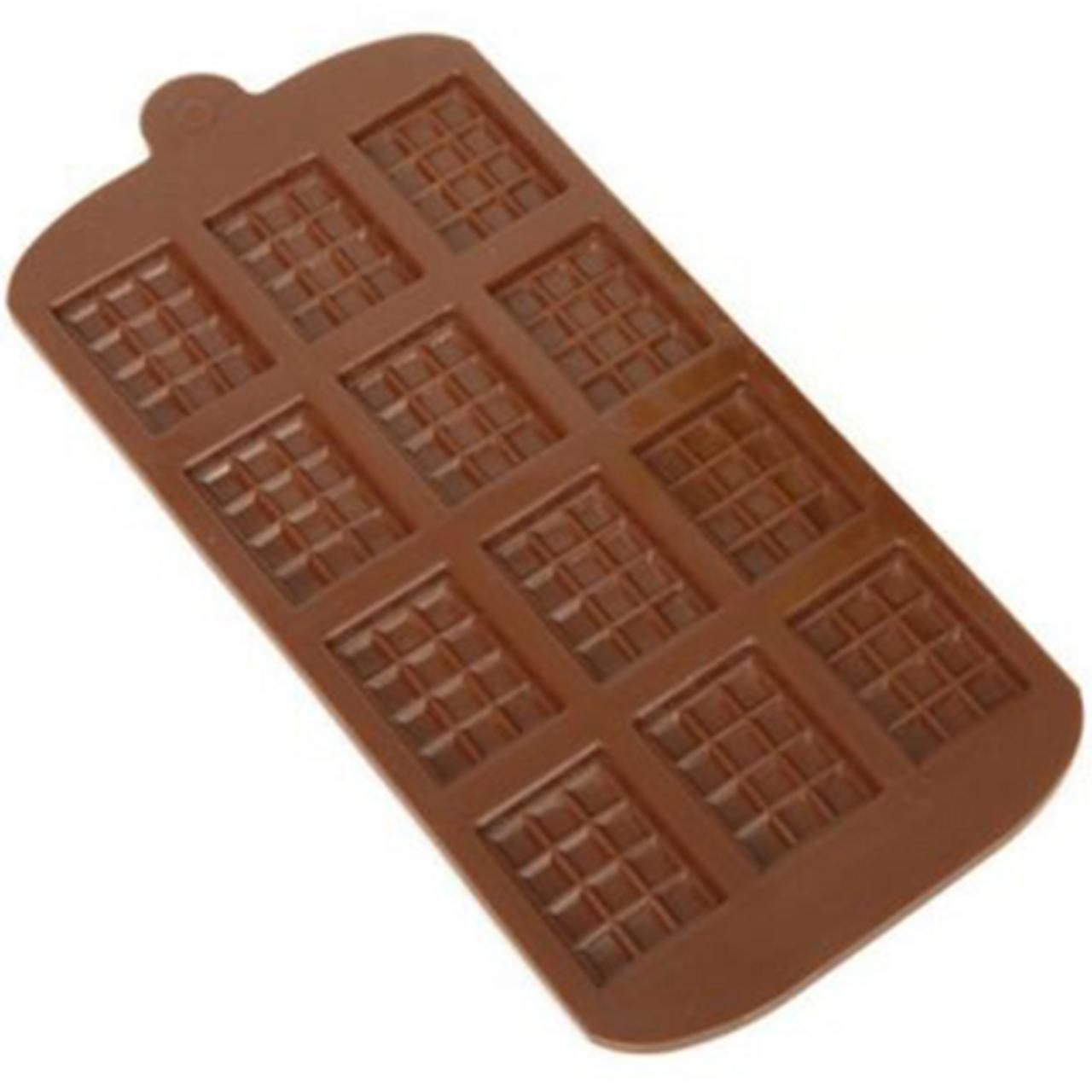 e25f3ea9c68 Mini Chocolate Block Silicone Mould