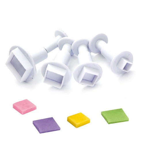 Plunger Cutter - SQUARE SET 3pc