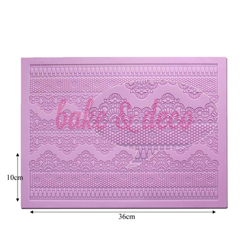 CHANTILLY Cake Lace Matt Design