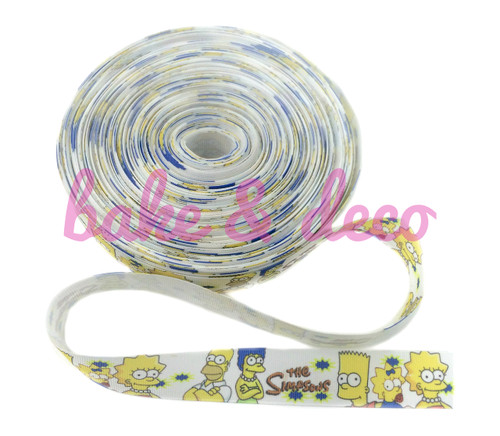 The Simpsons Ribbon 25mm
