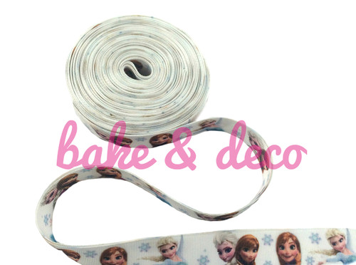 Frozen Elsa & Anna Ribbon 20mm