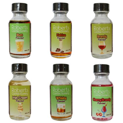 Roberts Confectionery Liqueur Flavours 30ml