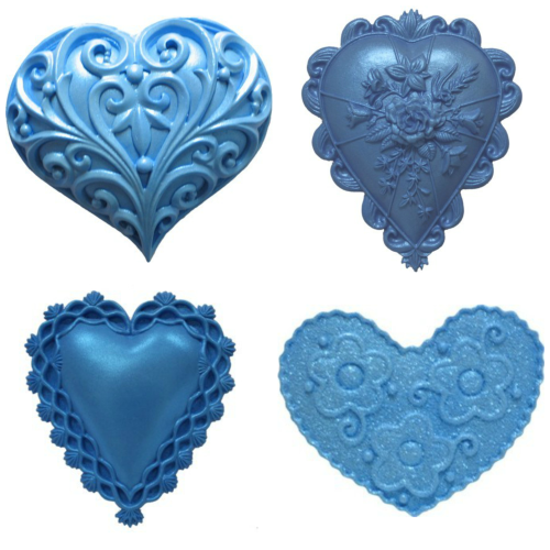 First Impression Heart Molds